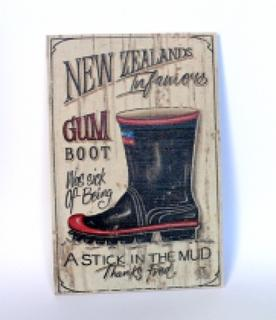 Gumboot Art Slab