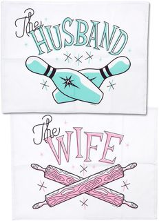SOURPUSS Pillowcase Husband & Wife Pins