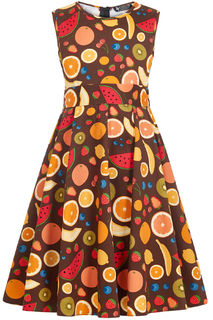 LITTLE LADY VINTAGE Tutti Fruity Hepburn Dress
