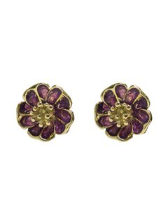 Sweet Daisy Studs Green