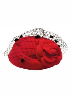 BANNED APPAREL Marilyn Fascinator Red