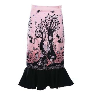 LINDY BOP Marsha Fairytale Castle Fishtail Skirt Last One Size 8