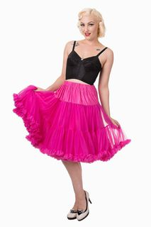 BANNED APPAREL Hot Pink Petticoat