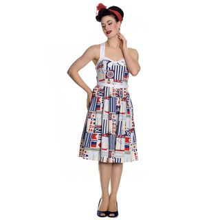HELL BUNNY Lighthouse 50's Dress