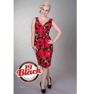 VICTORY PARADE Rita Poppy Dress