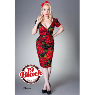 VICTORY PARADE Sally Anne Poinsettia Dress