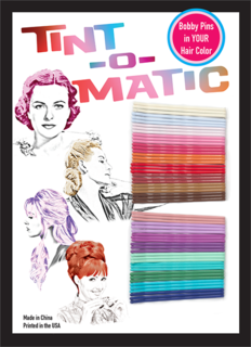 Tint-O-Matic Coloured Bobby Pins