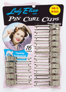 Lady Eliza Pin Curl Clips