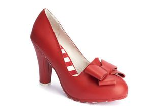 LOLA RAMONA June Queen Red Pump