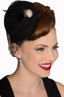 BANNED APPAREL All A Dream Black Fascinator