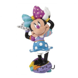 BRITTO Minnie Mouse Arms Up Mini Figurine