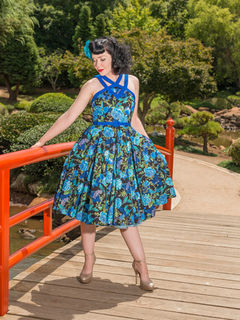 CHERRY BOMB VINTAGE COUTURE Brigitte Dress Enchanted