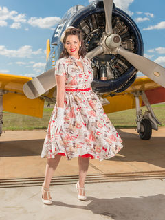 CHERRY BOMB VINTAGE COUTURE Eva Dress A Stitch In Time
