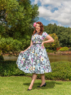 CHERRY BOMB VINTAGE COUTURE Eva Dress Belle Fleur