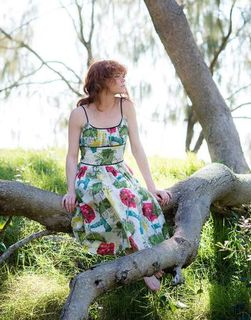 LAZYBONES Marilyn Dress in Paradise
