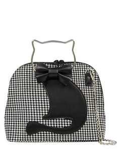 BANNED APPAREL Dixie Cat Bag Houndstooth