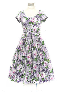 RETROSPEC'D Belinda Dress Mauve Rose