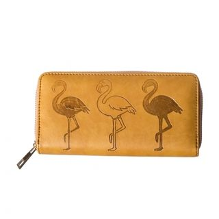 BANNED APPAREL Flamingo Wallet Tan