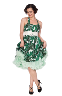 BANNED APPAREL Tropical Leaf Dress