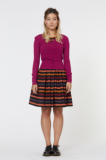 REVIVAL Townhouse Cardigan Plum