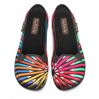 CHOCOLATICAS Colorama Slip On Flats