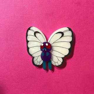 DAISY JEAN FLORAL Pokemon Butterfree Brooch