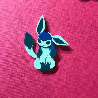 DAISY JEAN FLORAL Pokemon Glaceon Brooch