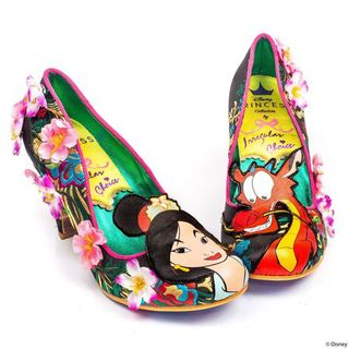 IRREGULAR CHOICE DISNEY Let Dreams Blossom Black