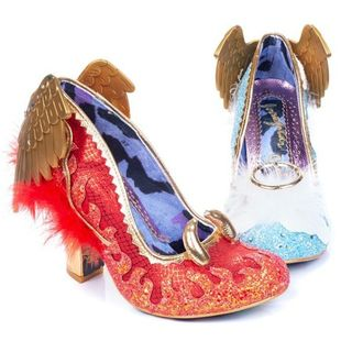 IRREGULAR CHOICE Good At Being Bad heels