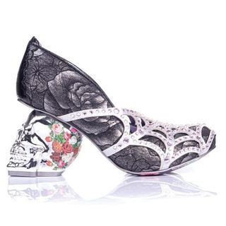 IRREGULAR CHOICE Dead Gorgeous Black, Silver