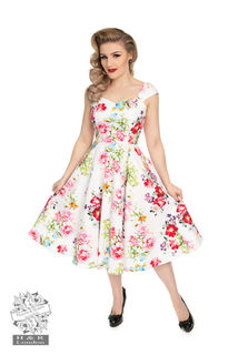HEARTS & ROSES Rose Paradise Swing Dress Last One Size 10