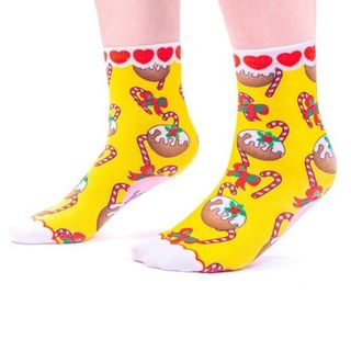 IRREGULAR CHOICE Christmas Pudding Socks