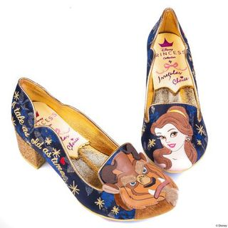IRREGULAR CHOICE DISNEY Beauty And The Beast As Old As Time Heels