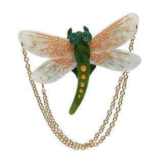 ERSTWILDER As The Dragon Flies Brooch