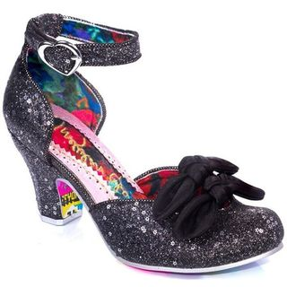 IRREGULAR CHOICE Flickety Kiss Black
