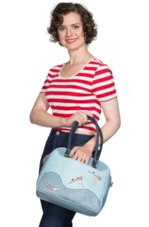 BANNED APPAREL  Swimmers Handbag Blue