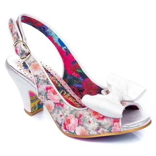 IRREGULAR CHOICE Hiya Synth White