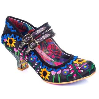 IRREGULAR CHOICE  Charmers Market Black