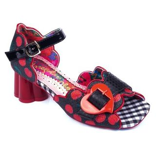 IRREGULAR CHOICE Jelly Trifle Black Red