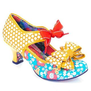 IRREGULAR CHOICE Apple Spice Mustard Blue