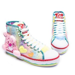 IRREGULAR CHOICE CARE BEARS Cute & Adorable