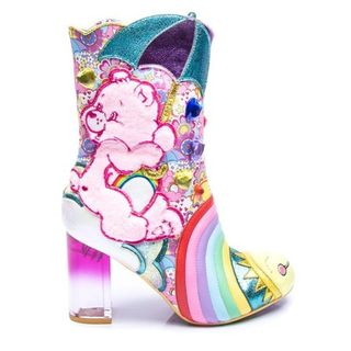 IRREGULAR CHOICE CARE BEARS Full Of Cheer Boots