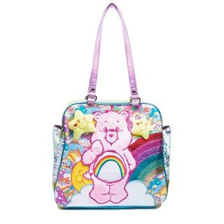 IRREGULAR CHOICE CARE BEARS 100% Huggable Bag