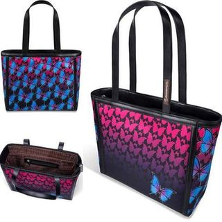 CHOCOLATICAS Dark Butterfly Tote Bag
