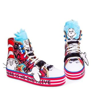 IRREGULAR CHOICE DR SEUSS You-Er Then You High Tops