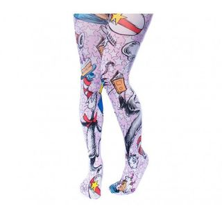 IRREGULAR CHOICE DR SUESS The Cat In The Hat Tights