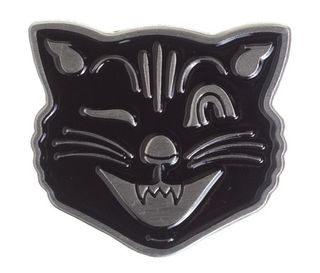 Jinx The Cat Enamel pin