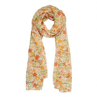 ERSTWILDER Peanuts Snoopy Floral Large Neck Scarf