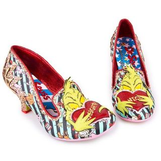 IRREGULAR CHOICE Dr Seuss The Grinch Naughty And Nice