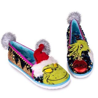 IRREGULAR CHOICE Dr Seuss The Grinch Rebel With A Cause
